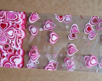 Heart Printed Cell Bags 2lb