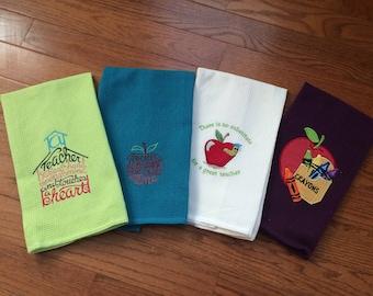 Teacher T-Towels