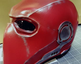 RedHo0d InjusticeTw0 foam helmet TEMPLATES