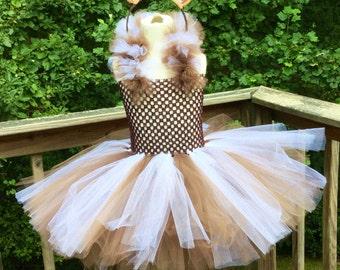 Horse Tutu, Horse Costume, Horse Tutu Dress, Dress up Costume, Tutu Costume, Tutu Dress, Horse Tutu With Mane. Braided Tail, 3T To 75Lbs