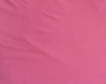 Modal Cotton Spandex Jersey Knit Fabric by the Yard ROSE HIP
