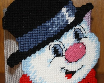 3241 Snowman Tissue Box Cover