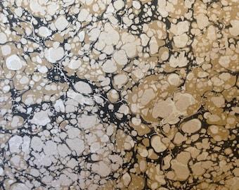 """Marbled Paper, 19"""" x 25"""", Italian Vein pattern"""