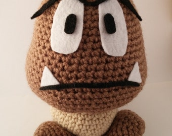 Crochet Super Mario Goomba Plush