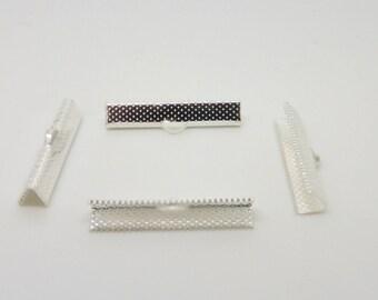 Ribbon, silver, 30 mm