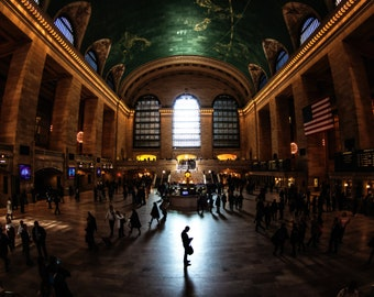 Time Stand Still - Grand Central Terminal, New York City - Fine Art Photography