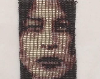 Custom beaded portrait based on your photo.  Excellent for loved ones, bereavement gifts and something special for you