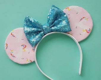 Unicorn Mouse Ears