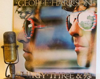 """George Harrison (The Beatles) Vinyl  1970s Classic Rock """"Thirty Three and 1/3"""""""