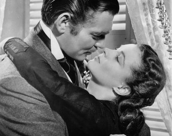 Vivien Leigh and Clark Gable Gone with the Wind 8x10 Photo Print