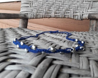 Macrame hemp necklace