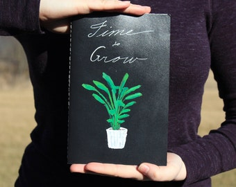 Hand Painted & Hand Bound Notebook