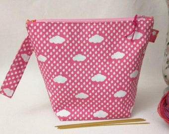 Sock Wedge Bag - April Showers