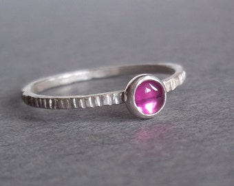 Tiny Ruby Ring