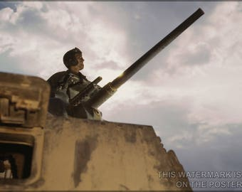 Poster, Many Sizes Available; Tank Commander, Ft. Knox, Ky
