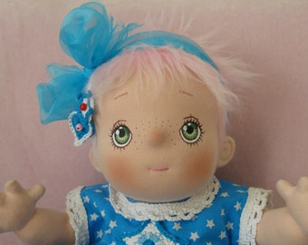 Saartje, a Soft Sculptured Baby Doll
