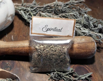 Spiritual Blend for Rites and meditations, 5 sachets of natural incense