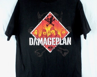 Damageplan Dimebag Darrell T-Shirt XL