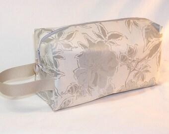 Shimmer Floral Project Bag