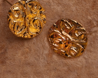 Gold Vermeil Finding Earring Post Findings No. P79vm