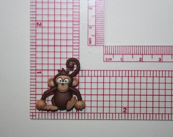 Monkey Silicone Mold Candy Chocolate Fondant Resin Soap Mold Food Safe Mold