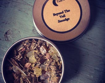 Beyond The Veil Loose Incense Smudge, Psychic Visions, Astral Travel, Shamanic Journeying, Witchcraft