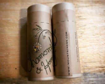 organic deodorant / Honey chamomile non-toxic  deodorant / aluminum free deodorant / eco friendly gift / christmas stocking stuffer