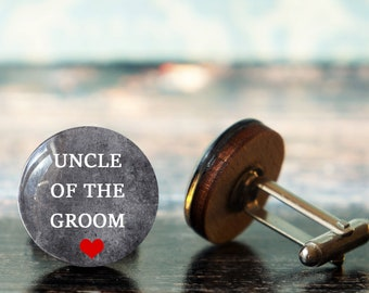 gift for uncle , uncle of the groom , wedding cuff links , uncle cufflinks , uncle wedding gift ,