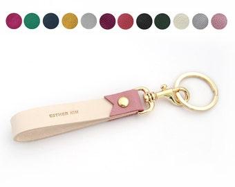 Customized Leather Keychain, keyring, personalized keyring, custom made keyring, wedding favor, Keychains Lanyards,gift ideas,free initials