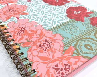Ruled Journal - Trailing Flowers