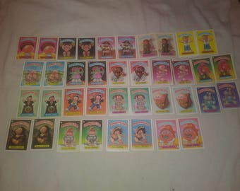 40 second edition Garbage Pail Kids
