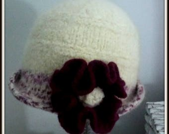 FELTED KNIT HATS Woman Women