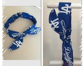 LA dodgers headband
