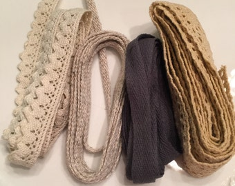 Grab package of Trim 2 yards each