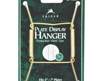 Brass Wire Hanger for Small Plates