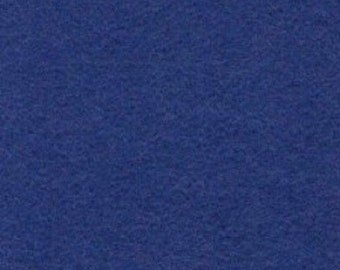 "100% Merino WOOL FELT 18 X 22"" Fat Quarter- Made in USA- Color- Blue Bonnet- Great for Crafting!"