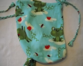 Large ONE-STRAP BACKPACKS with frogs