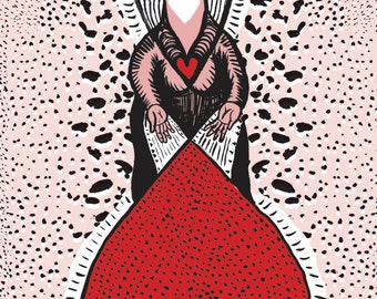 Glowing Love - Fine Art Print