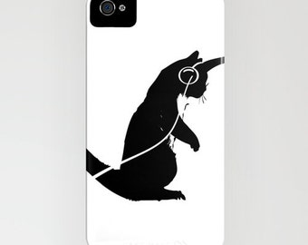Dancing Cat on Phone Case -  Cat lover, Samsung Galaxy S7, iPhone 6S, iPhone 6 Plus, Cat Gift Ideas, Gifts for him, Gifts for her, Cat gifts