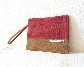 Clutch Kit toiletry Tote all Bohemian chic makeup