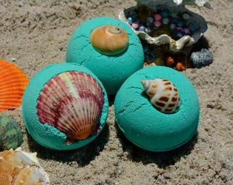 Mermaid Bath Bomb~Bath Bombs~Ocean Bath Bomb~Teal Bath Bomb~Blue Bath Bomb