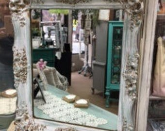 Small Ornate Framed Mirror