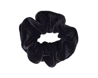 More colors available-  Velvet Scrunchie/ Velvet Scrunchie/ Black Scrunchie /Handmade Scrunchie /accessories/Hair accessories Gift Under 10