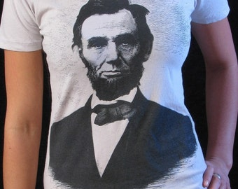Abraham Lincoln Shirt - Women's T-shirt - Abe Lincoln - History Teacher Gift - History Buff - Civil War