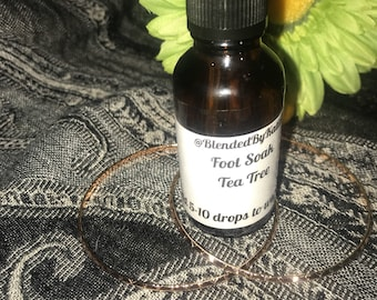"1oz ""Foot Soak"" Essential Oil Blend"