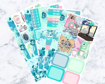 Girl's Night In: January Sub Mini Sticker Kit