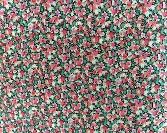 Tana lawn fabric from Liberty if London, Pepper 9010B.