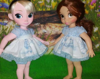 16 inch dress and pantaloon set for dolls such as 16 inch disney animator dolls