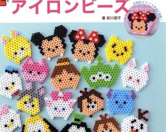 Disney Tsum Tsum Chracters Made with Iron Beads  - Japanese Craft Book