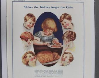 """Food  110 """" Hovis   """"  Ad -  November 1928"""